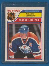 WAYNE GRETZKY Scoring Leaders Card | 1985-86 O-Pee-Chee OPC #259