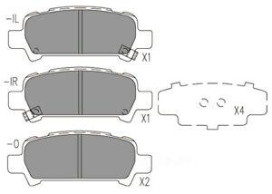 Disc Brake Pad Set-Premium Ceramic Pads Rear Dash 4 Brake CFD770
