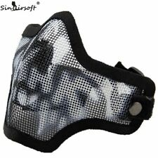 Tactical Steel Half Face Mask Airsoft woodland Mask CM01 Sportswear Accessories