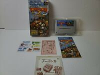 Donkey Kong Country 2 with Box and Manual [Super Famicom Japanese version]