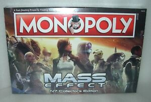 Mass Effect Monopoly N7 Collectors Edition - New & Sealed