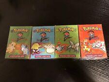 Four Sealed BASE SET 2 Starter Theme Decks - Pokémon TCG 1999