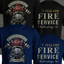 New Zealand Fire Service and Emergency Wakaratonga Iwi Rescue Fire Fighter Shirt