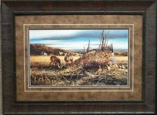 "Terry Redlin /"" Morning Chores/"" Lake Duck Art Print With COA 24/"" x 14/"""