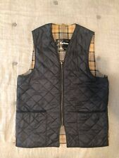 Barbour Quilted gilet trapunta x interno Giacche Barbour blu uomo taglia UK 42