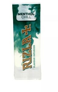 Rizla Infusion Flavour Cards - 25 Inserts Full Box 📦 Green