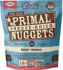 New listing Primal Freeze Dried Cat Food Rabbit Formula 14oz