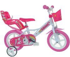 Dino Bikes 12 inch Unicorn Bike for Kids - Pink