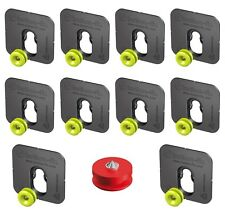 10x Button Fix Type 1 Bonded Bracket Marker Guide Kit Connecting Parallel Panel