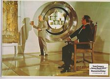 JAMES BOND DIAMONDS ARE FOREVER SET OF 8 GERMAN LOBBY CARDS SEAN CONNERY