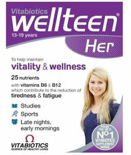 Vitabiotics Wellteen Her Vitality & Wellness Nutritional Support Tablets 30 Tabs