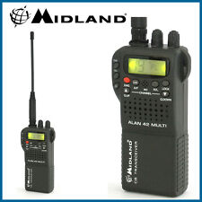 MIDLAND ALAN 42 AM FM Multi Band Cellulare Palmare Radio CB ricetrasmittente & COVER