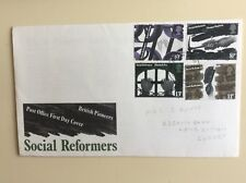 Post Office First Day Cover Social Reformers