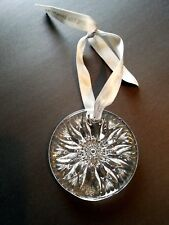 Beautiful Millennium Waterford Crystal Christmas Ornament...