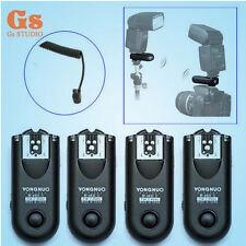 4pcs Yongnuo RF-603II Flash Trigger Canon YN-460 II YN-560II YN-565EX YN-568EX