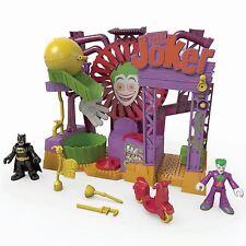 Fisher Imaginext DC Super Friends Joker Laff Factory Playset With Batman