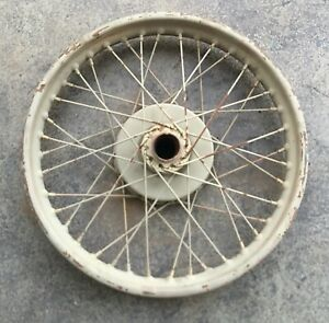 "Vintage 19"" Front Wheel WM 3 19 England Jones Triumph Norton BSA Vincent WM319"