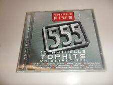 CD  Triple Five - 555 Vol. 1 / 10 Aktuelle Tophits