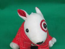PLUSH TARGET STORES BULLSEYE STUFFED DOG SORENSON #41 RACE CAR NASCAR DRIVER