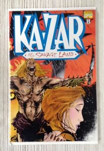 MARVEL COMICS KAZAR OF THE SAVAGE LAND #1  NM+ 9.6 OR BETTER