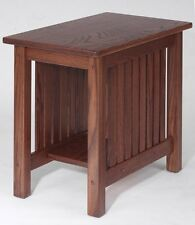 #4502 Solid Oak  Mission End Table