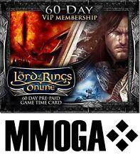 LOTRO - 60 Tage VIP Gamecard - Der Herr der Ringe Online HdRO GTC - LOTRO VIP