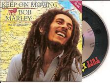 BOB MARLEY - keep on moving CD SINGLE 2TR CARDSLEEVE French 1995