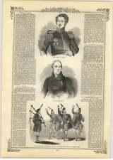 1844 di GWALIOR durante l'attacco generale Gough, Lord ellenborough, in scatola OPERA