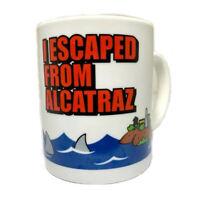 'I Escaped Alcatraz' Coffee Mug Glass Cup Drinking Kitchen Accessories Prison