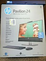 "HP 24-xa0053w 23.8"" FHD 1920x1080 AIO Touch i5-8400T 6-Cores 8GB 16GB Optane+1TB"