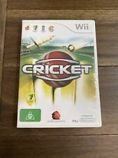 Cricket - Nintendo Wii PAL (Wii-U Compatible) with Manual
