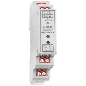 Homematic 1-Kanal-Schaltaktor im Hutschienengehäuse HM-LC-Sw1-DR