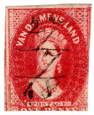 (I.B) Australia - Tasmania Revenue : Stamp Duty 1d