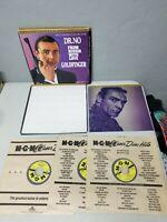 James Bond 007 - The Connery Collection Volume 1 Box Set Laserdisc - 3 Movies