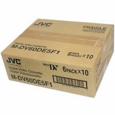 JVC M-DV60DE5F1 Digital Video Cassette (MiniDV tape 60pcs)