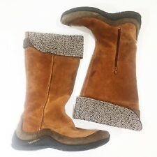 Merrell Womens Chardonel Oak Brown Snow Boots Size 10