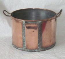 Vintage Rare copper gravy/stock pan with pouring spout.