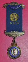 Royal Antediluvian Order of Buffaloes Certified Primo jewel RAOB silver hallmark