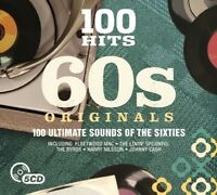 100 HITS-60'S ORIGINALS New Digipack Edition 5 CD NEU