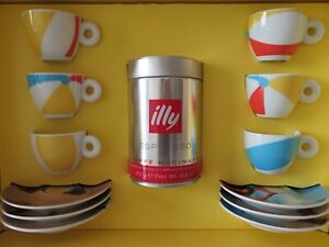 illy Art Collection 2002 Marina Abramovic  Espresso Cups New!