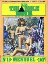 LE TRIANGLE NOIR N°13 CAP - magazine BD  pour Adultes
