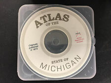 Atlas of the State of Michigan from 1873 on Cd