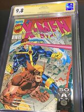 X-Men #1 (1991) Set of 4. CGC All Signed by Jim Lee!! RARE!!