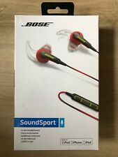 Bose SoundSport Ultra In-Ear Headphones for Apple Devices - Red - New,Sealed