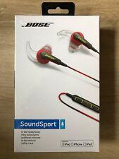 BOSE SoundSport Ultra Cuffie in-ear per dispositivi Apple-Rosso-Nuovo, sigillato