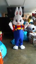 Easter Bunny Boy Mascot Costume Halloween Party Character Birthday Cosplay Adult