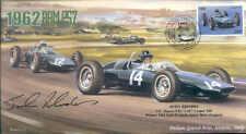 1962a BRM P57s & COOPER T60, ITALIAN GP, MONZA F1 cover signed JOHN RHODES