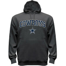 Dallas Cowboys Men's Big & Tall Pullover Hoody Sweatshirt - Charcoal