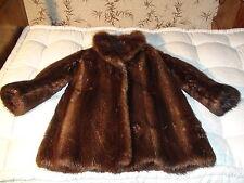 Pelliccia Castoro - Beaver Fur Coat - Made by CERVINI - Italy