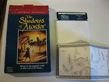 """The Shadows of Mordor Apple IIe Game 5 1/4""""  disk Complete Apple Games Addeson"""
